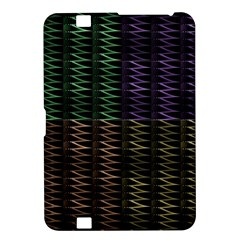 Multicolor Pattern Digital Computer Graphic Kindle Fire Hd 8 9  by Nexatart