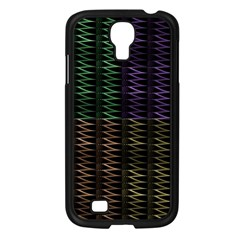 Multicolor Pattern Digital Computer Graphic Samsung Galaxy S4 I9500/ I9505 Case (black) by Nexatart