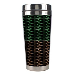 Multicolor Pattern Digital Computer Graphic Stainless Steel Travel Tumblers by Nexatart