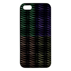 Multicolor Pattern Digital Computer Graphic Iphone 5s/ Se Premium Hardshell Case by Nexatart
