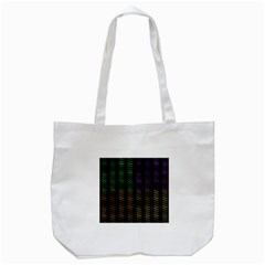Multicolor Pattern Digital Computer Graphic Tote Bag (white) by Nexatart