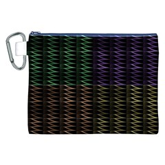 Multicolor Pattern Digital Computer Graphic Canvas Cosmetic Bag (xxl) by Nexatart