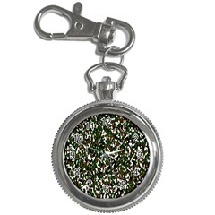 Camouflaged Seamless Pattern Abstract Key Chain Watches by Nexatart