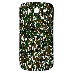 Camouflaged Seamless Pattern Abstract Samsung Galaxy S3 S Iii Classic Hardshell Back Case by Nexatart