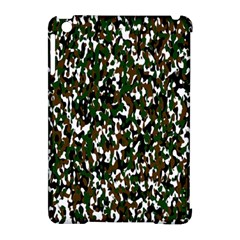 Camouflaged Seamless Pattern Abstract Apple Ipad Mini Hardshell Case (compatible With Smart Cover) by Nexatart
