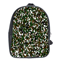 Camouflaged Seamless Pattern Abstract School Bags (xl)  by Nexatart