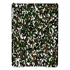 Camouflaged Seamless Pattern Abstract Ipad Air Hardshell Cases