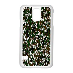 Camouflaged Seamless Pattern Abstract Samsung Galaxy S5 Case (white) by Nexatart