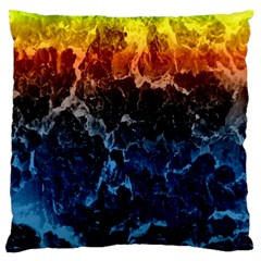 Abstract Background Standard Flano Cushion Case (one Side) by Nexatart