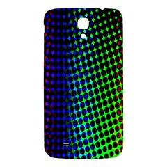 Digitally Created Halftone Dots Abstract Background Design Samsung Galaxy Mega I9200 Hardshell Back Case by Nexatart