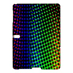 Digitally Created Halftone Dots Abstract Background Design Samsung Galaxy Tab S (10 5 ) Hardshell Case  by Nexatart