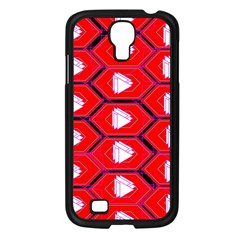 Red Bee Hive Background Samsung Galaxy S4 I9500/ I9505 Case (black) by Nexatart