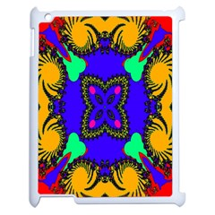Digital Kaleidoscope Apple Ipad 2 Case (white) by Nexatart