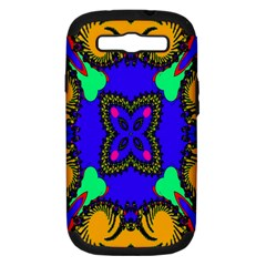 Digital Kaleidoscope Samsung Galaxy S Iii Hardshell Case (pc+silicone) by Nexatart