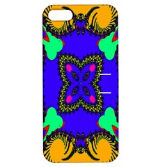 Digital Kaleidoscope Apple iPhone 5 Hardshell Case with Stand by Nexatart