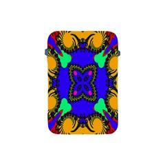 Digital Kaleidoscope Apple Ipad Mini Protective Soft Cases by Nexatart