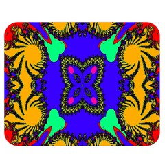 Digital Kaleidoscope Double Sided Flano Blanket (medium)  by Nexatart