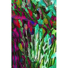 Bright Tropical Background Abstract Background That Has The Shape And Colors Of The Tropics 5 5  X 8 5  Notebooks by Nexatart