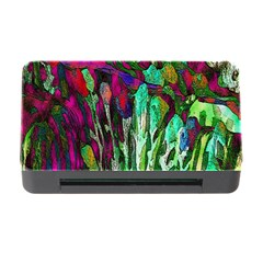 Bright Tropical Background Abstract Background That Has The Shape And Colors Of The Tropics Memory Card Reader with CF by Nexatart