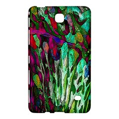 Bright Tropical Background Abstract Background That Has The Shape And Colors Of The Tropics Samsung Galaxy Tab 4 (8 ) Hardshell Case  by Nexatart