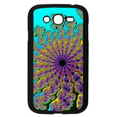 Beautiful Mandala Created With Fractal Forge Samsung Galaxy Grand Duos I9082 Case (black) by Nexatart