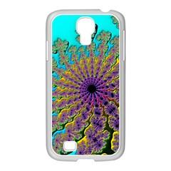 Beautiful Mandala Created With Fractal Forge Samsung Galaxy S4 I9500/ I9505 Case (white) by Nexatart
