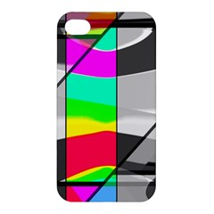 Colors Fadeout Paintwork Abstract Apple Iphone 4/4s Hardshell Case by Nexatart