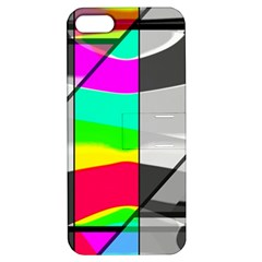 Colors Fadeout Paintwork Abstract Apple iPhone 5 Hardshell Case with Stand by Nexatart