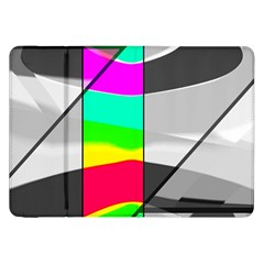 Colors Fadeout Paintwork Abstract Samsung Galaxy Tab 8 9  P7300 Flip Case by Nexatart