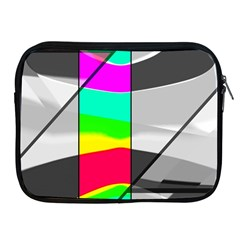 Colors Fadeout Paintwork Abstract Apple Ipad 2/3/4 Zipper Cases by Nexatart