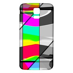 Colors Fadeout Paintwork Abstract Samsung Galaxy S5 Back Case (white) by Nexatart