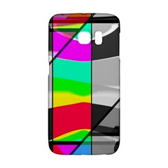 Colors Fadeout Paintwork Abstract Galaxy S6 Edge by Nexatart
