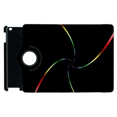 Digital Computer Graphic Apple Ipad 3/4 Flip 360 Case by Nexatart