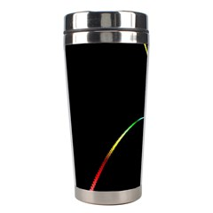 Digital Computer Graphic Stainless Steel Travel Tumblers by Nexatart