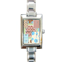 Part Background Image Rectangle Italian Charm Watch by Nexatart