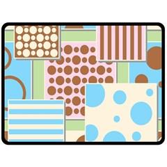 Part Background Image Fleece Blanket (Large)  by Nexatart