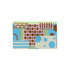 Part Background Image Cosmetic Bag (xs) by Nexatart