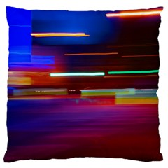 Abstract Background Pictures Large Flano Cushion Case (two Sides) by Nexatart
