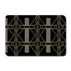 Simple Art Deco Style Art Pattern Small Doormat  by Nexatart