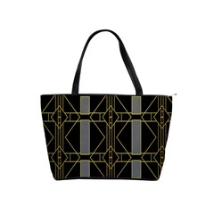 Simple Art Deco Style Art Pattern Shoulder Handbags by Nexatart
