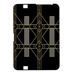 Simple Art Deco Style Art Pattern Kindle Fire Hd 8 9  by Nexatart