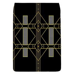 Simple Art Deco Style Art Pattern Flap Covers (s)  by Nexatart