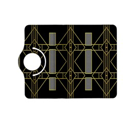 Simple Art Deco Style Art Pattern Kindle Fire Hd (2013) Flip 360 Case by Nexatart