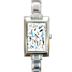 Abstract Image Image Of Multiple Colors Rectangle Italian Charm Watch by Nexatart
