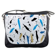 Abstract Image Image Of Multiple Colors Messenger Bags by Nexatart