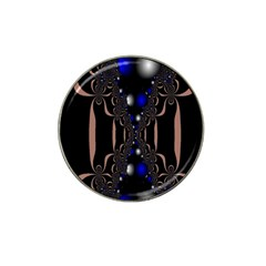 An Interesting Mix Of Blue And Other Colours Balls Hat Clip Ball Marker by Nexatart