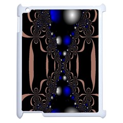 An Interesting Mix Of Blue And Other Colours Balls Apple Ipad 2 Case (white) by Nexatart