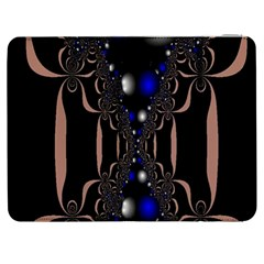 An Interesting Mix Of Blue And Other Colours Balls Samsung Galaxy Tab 7  P1000 Flip Case by Nexatart