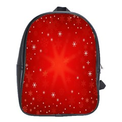 Red Holiday Background Red Abstract With Star School Bags (xl)  by Nexatart