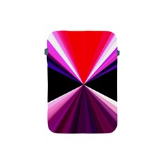 Red And Purple Triangles Abstract Pattern Background Apple Ipad Mini Protective Soft Cases by Nexatart
